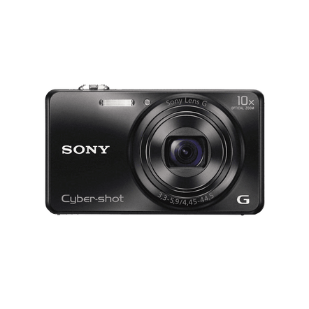 18.2 Megapixel W Series 10X Optical Zoom Cyber-shot Compact Camera (Black)