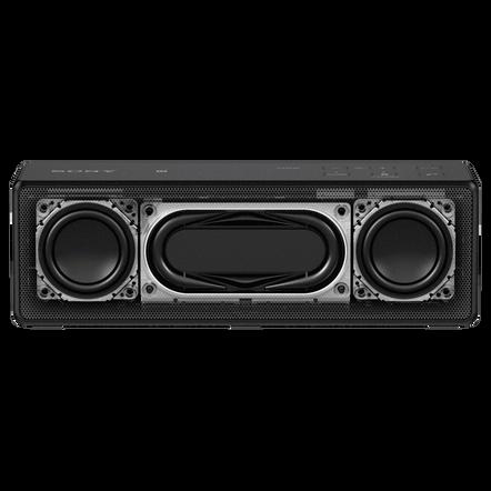 Portable Wireless Bass Speaker with Bluetooth (Black)