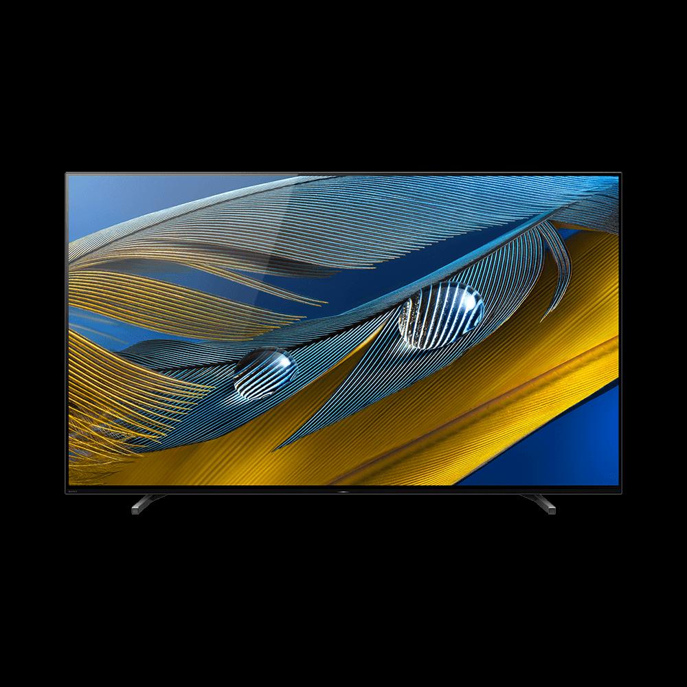 "55"" A80J | BRAVIA XR | OLED | 4K Ultra HD | High Dynamic Range (HDR) | Smart TV (Google TV), , product-image"