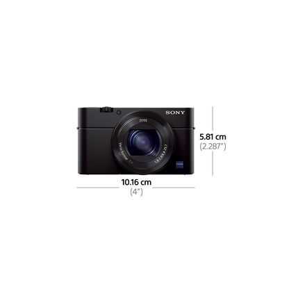 RX100 III Digital Compact Camera with 2.9x Optical Zoom, , hi-res