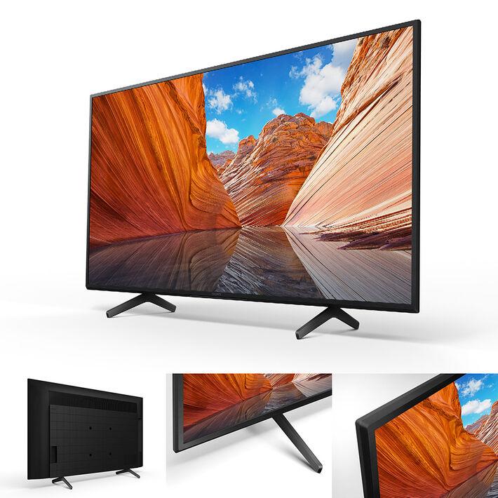 "43"" X80J | 4K Ultra HD | High Dynamic Range (HDR) | Smart TV (Google TV), , product-image"