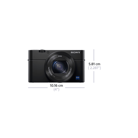 RX100 IV Digital Compact Camera with 2.9x Optical Zoom, , hi-res