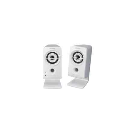 Desktop / Multimedia Portable Speakers (White), , hi-res