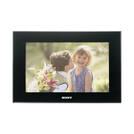 "9"" Digital Photo Frame (Black), , hi-res"