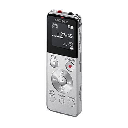 4GB UX Series Digital Voice Recorder (Silver)
