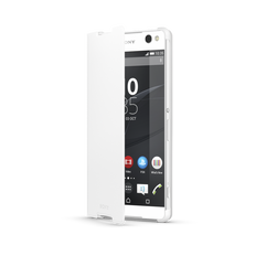 Style Cover for for Xperia C5 Ultra (White)