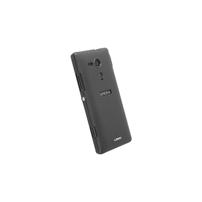 Xperia SP - Krusell Colourcover Black Case, , product-image