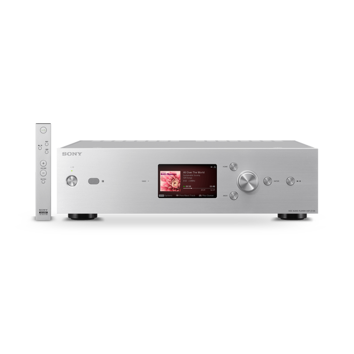 High-Resolution Audio 1TB HDD Player (Silver), , product-image