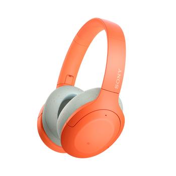 WH-H910N h.ear on 3 Wireless Noise Cancelling Headphones (Orange), , hi-res
