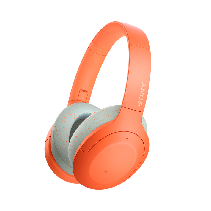 WH-H910N h.ear on 3 Wireless Noise Cancelling Headphones (Orange), , product-image