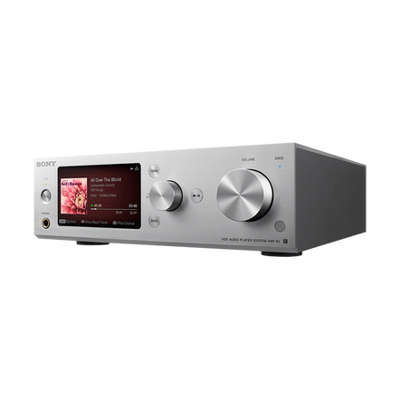 High-Resolution Audio 500G HDD Player (Silver), , hi-res