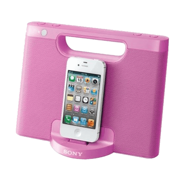 iPod and iPhone Portable Dock (Pink), , product-image