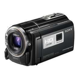 7MP HD FLASH PROJECTOR HANDYCAM, , hi-res