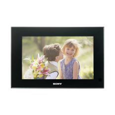 "9"" Digital Photo Frame (Black)"