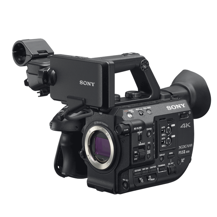 PXW-FS5 M2 - 4K HDR Super35mm Compact Camcorder, , product-image