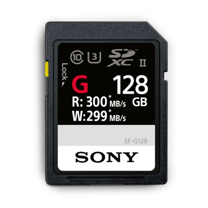128GB SF-G  Series UHS-II SD Memory Card, , product-image