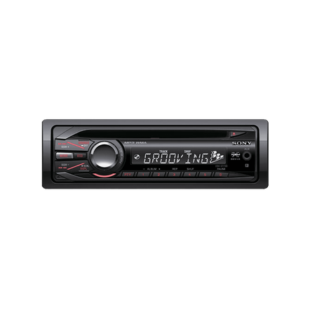 In-Car CD/MP3/WMA/Tuner Player GT290 Series Headunit