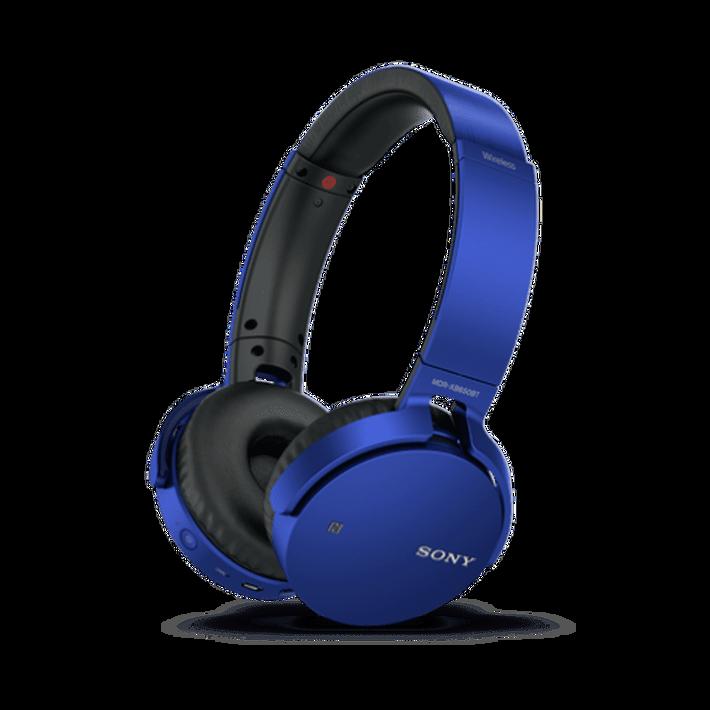 XB650BT EXTRA BASS Bluetooth Headphones (Blue), , product-image