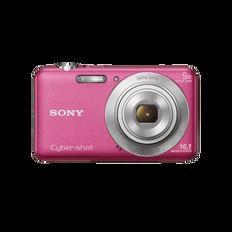 16.1 Megapixel W Series 5X Optical Zoom Cyber-shot Compact Camera (Pink)