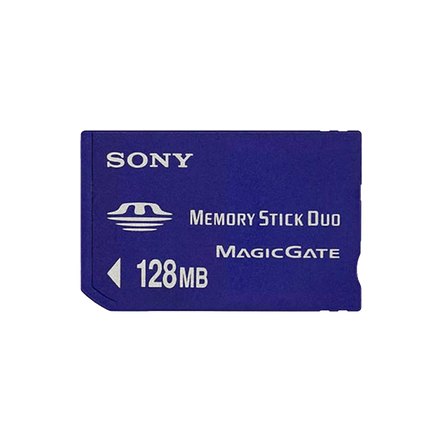 128Mb Memory Stick Duo(with Adaptor)