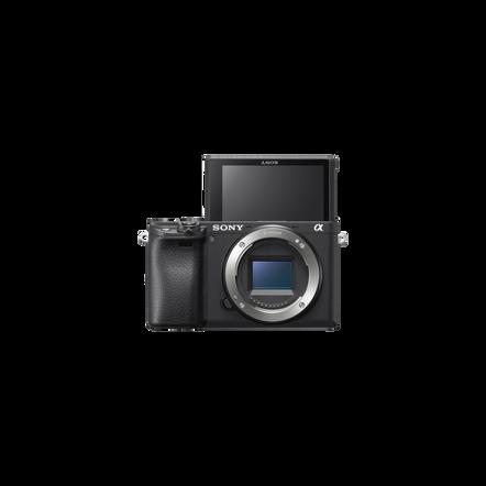 a6400 Premium Digital E-Mount Camera with APS-C Sensor (Black Body)