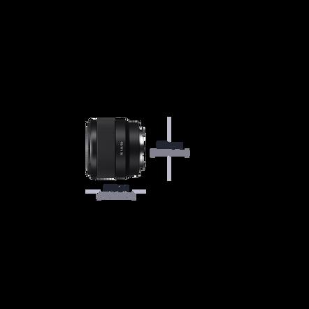 E-Mount 50mm F1.8 Lens