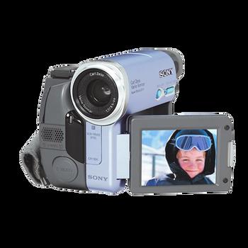 MiniDV Handycam with Memory Stick Slot, , hi-res