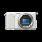 ZV-E10   Interchangeable Lens Vlog Camera (White), , hi-res