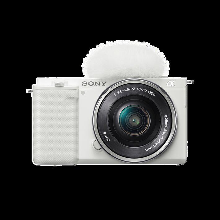 ZV-E10 | Interchangeable Lens Vlog Camera with 16-50mm Lens Kit (White), , product-image