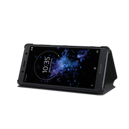 Xperia XZ2 Compact Style Cover Stand SCSH50 (Black), , hi-res