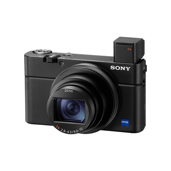 RX100 VI Broad Zoom Range and Super-fast AF Camera, , product-image