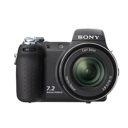 7.2 Megapixel H Series 12X Optical Zoom CyberShot (Black), , hi-res