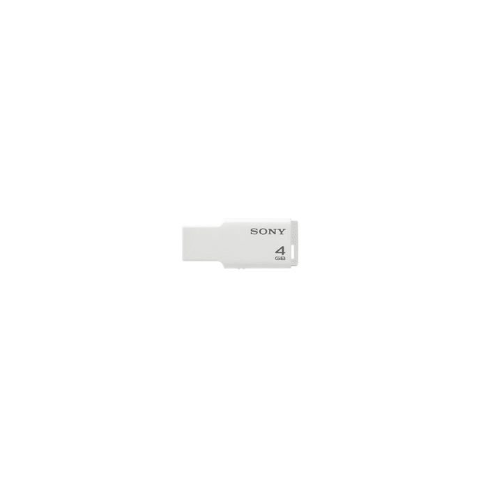 4GB USB Micro Vault Tiny (White), , product-image