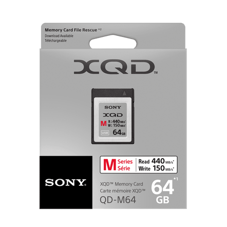 XQD M Series 64GB Memory Card, , hi-res