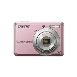 10.1 Megapixel S Series 3X Optical Zoom Cyber-shot Compact Camera (Pink), , hi-res