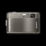 10.2 Megapixel T Series 4X Optical Zoom Cyber-shot Compact Camera (Grey), , hi-res