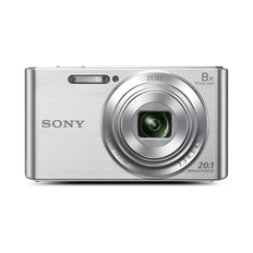 W830 Digital Compact Camera with 8x Optical Zoom (Silver)