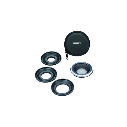 Wide Angle Conversion Lens for Camcorder, , hi-res