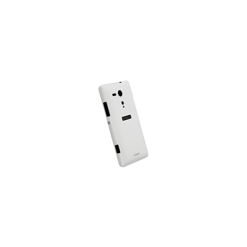 Xperia SP - Krusell Colourcover White Case, , hi-res