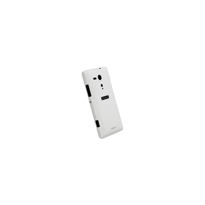 Xperia SP - Krusell Colourcover White Case, , product-image