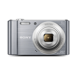 W810 Digital Compact Camera with 6x Optical Zoom (Sliver), , hi-res