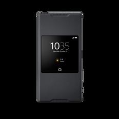 Style Cover Stand SCR46 for Xperia Z5 Premium (Graphite Black)