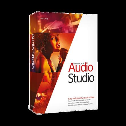 Sound Forge Audio Studio 10, , hi-res