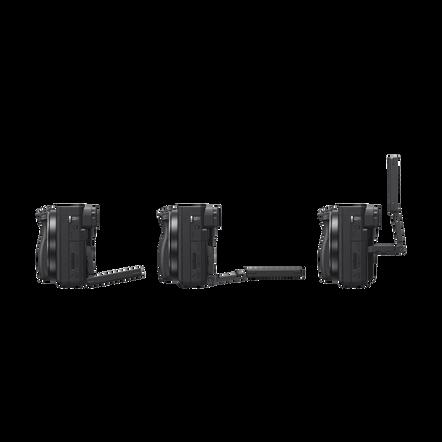 Alpha 6400 Premium Digital E-mount APS-C Camera Kit with 16-50mm Lens (Black), , hi-res