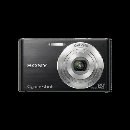 14.1 Megapixel W Series 4X Optical Zoom Cyber-shot Compact Camera (Black)