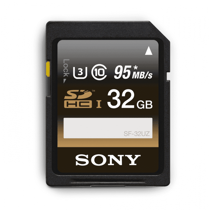 32GB SDHC UHS-1 Class 10 Memory Card UZ Series, , product-image