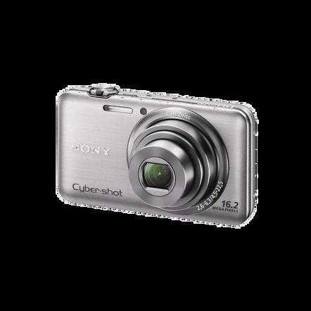 16.2 Megapixel W Series 5X Optical Zoom Cyber-shot Compact Camera (Silver), , hi-res