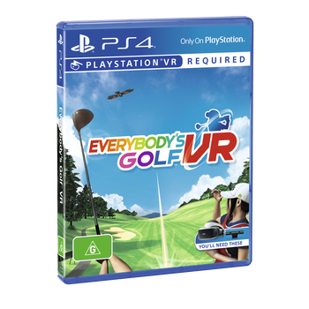 VR Everybody's Golf , , lifestyle-image
