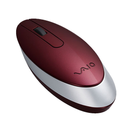 Bluetooth Laser Mouse (Glossy Red)