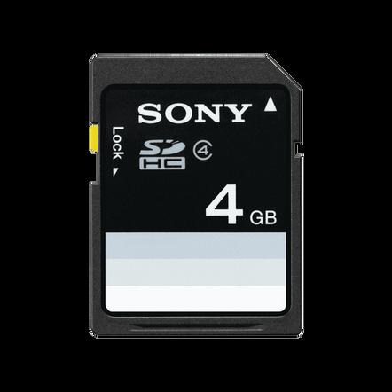 4GB SDHC Memory Card, , hi-res